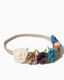 Flower Festival Hair Wrap