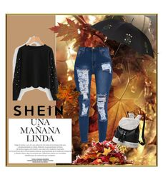 """""""SHEIN"""" by miralem-2210 ❤ liked on Polyvore featuring Alexander McQueen"""