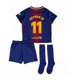 Barcelona Neymar Jr 11 Hemmaställ Barn 17-18 Kortärmad Neymar Jr, Fc Barcelona, Sports, Tops, Fashion, Hs Sports, Moda, Fashion Styles, Sport