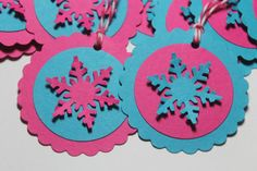 Disney's FROZEN Inspired Gift Tags/Set of 10 by ThePaperOwl13,
