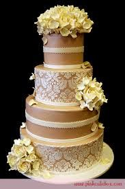 Image result for vintage champagne and silver blue wedding cAKES