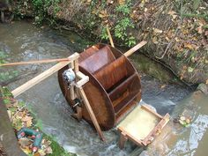 Water wheel DIY...more livin' off the grid...