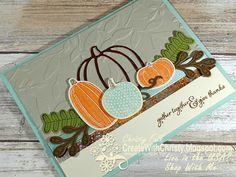 Create With Christy: Stampin' Up! Holiday Catalog Product Spotlight Blog Hop - Pick a Pumpkin Bundle