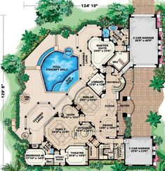 These floor plans are awesome for a client needing that extra visual. (Floorplan 2)