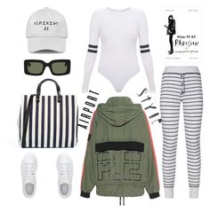"""""""Airport style"""" by thestyleartisan ❤ liked on Polyvore featuring Sundry, Clare V., raen, adidas, P.E Nation and airportstyle"""