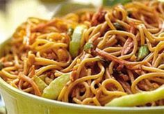 Schezwan Hakka Noodles Recipe - Schezwan Vegetable Noodles Indian Style