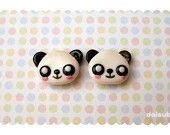kawaii polymer clay studs on Etsy, a global handmade and vintage marketplace.