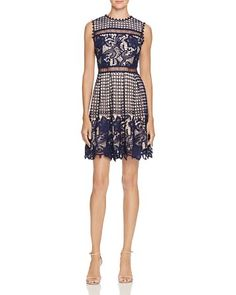 8$  Buy here - http://viice.justgood.pw/vig/item.php?t=gst9nw156939 - Mixed Lace Dress - 100% Exclusive