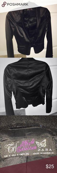 Zara Woman's Blazer Cute Blazer Jacket (size Small) only worn ONCE. Zara Jackets & Coats Blazers