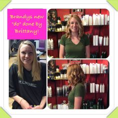 #before #after #curls #blonde #gorgeous