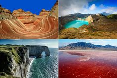 Naturwunder weltweit: 18 Orte wie von einem anderen Stern