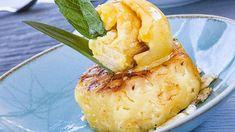 Grilled Pineapple with Mango Sorbet  Holiday Memories....sweet holiday Memories  ----  Gegrillte Ananas mit Mango Sorbet Kleiner wehmütiger Rückblick auf unseren Urlaub vor kurzem . Auch wenn ich die aufgefutterten Kilos noch nicht wieder runter hab fühlt es sich an als wärs Zeit für den nächsten Urlaub  wart ihr dieses Jahr schon auf Urlaub oder ist es erst soweit? . . -- . . #pixelfoodie #grilledpineapple #pineapplelove #mangosorbet #mangoicecream #holidaymemories #ananas #mangoeis… Mango Sorbet, A Food, Pineapple, Sweet, Holiday, Mango Ice Cream, Crickets, Candy, Vacations