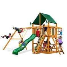 Shop Heartland Captain S Loft Expandable Residential Wood Playset