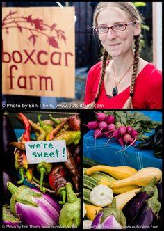 Boxcar Farm, Nevada City Farmers Market, photos by Erin Thiem, http://outsideinn.com