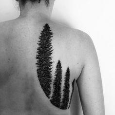 Blackwork tattoo by Matt Matik