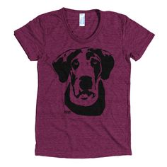 Great Dane Tri Blend Womens T-shirt, Great Dane Gifts, Dog Memorial Gift, Personalised Wife Gift, Cu Gifts For Dog Owners, Dog Lover Gifts, Dog Lovers, Dog Themed Parties, Funny Christmas Sweaters, Christmas Party Outfits, Dog Memorial, Dog Sweaters, Gifts For Wife