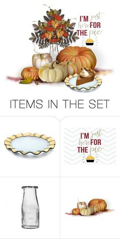 """""""I'm Just Here For The Pie..."""" by maryv-1 ❤ liked on Polyvore featuring art"""
