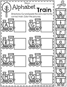 Transport-Arbeitsblätter - Back to School Worksheets - Transport Transportation Preschool Activities, Transportation Worksheet, Preschool Phonics, Letter Worksheets For Preschool, Transportation Activities, Preschool Letters, Letter Activities, Preschool Themes, Preschool Lessons