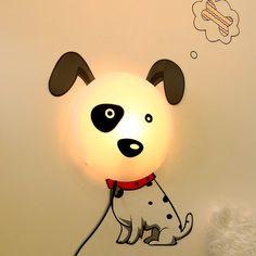 DIY Dog Lamp