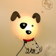 DIY Dog Lamp