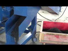 Molino de cauchos (llantas trituradas) - YouTube