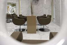 In the heart we find a reflection of our soul. Salon Chairs, In The Heart, Salons, Reflection, Style, Swag, Lounges, Outfits