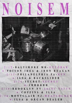 Noisem to hit the road with Ilsa this February - After having toured twice with Carcass and thoroughly covered the United States over the past couple of years Noisem know how to put on a good live show. I remember seeing these […]