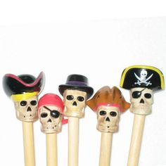 Pirate Handmade Birch Knitting Needles by kikuhandmade on Etsy, $14.00