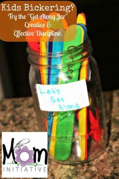 Get Along Jar: Creative Discipline to Combat Sibling Bickering.