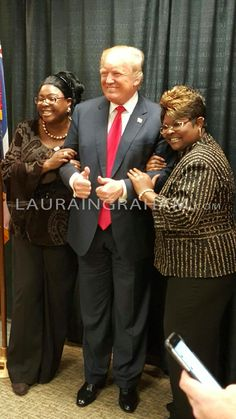 Diamond and Silk! Love them!!! Trump will UNITE America. Watch WILL DEMOCRATS LET HIM or will they continue divisive tactics? WHATEVER HAPPENED to working together/debating different views to IMPROVE AMERICA? GO PRESIDENT TRUMP.