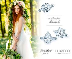 Announcing our partnership with Bashford Jewelry, eco, ethical and elegant fine jewelry.  Come check out our eco luxury wedding registry www.luxandeco.com