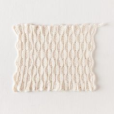 Textured Comb Crochet Dishcloth - Knitting Patterns and Crochet Patterns from KnitPicks.com