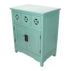 Heather Ann 1 Drawer and 2 Doors Cabinet & Reviews | Wayfair