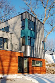 Hive modular x line 001 exterior new brighton mn hive pinterest awesome yellow and - Hive modular x line container home in canada ...