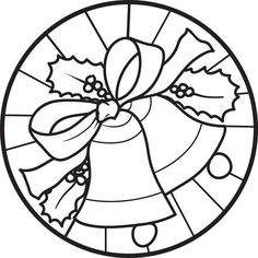 Christmas Bells Coloring Page #6