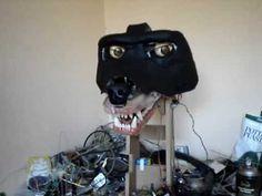Animatronic Werewolf Head Update