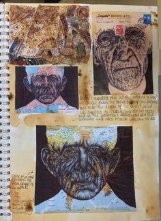 A level External Assignment, St Mary's Catholic High School A Level Art Sketchbook, Sketchbook Pages, Art Journal Pages, Sketchbook Ideas, Art Journaling, Art Alevel, Art Assignments, Gcse Art, Arts Ed