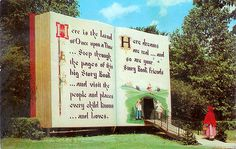 Roadside Pennsylvania postcard