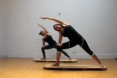 Looking for a new yoga workout? Try these 17 feel-good yoga poses that are great on a paddleboard or an Indo Board.