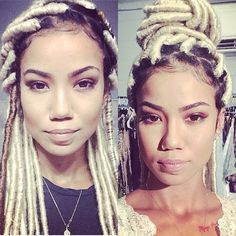 NEW HAIR-DO: Are y'all feelin' Jhene Aiko's @jheneaiko new faux locs? Hit or miss? #fauxlocs #jheneaiko #Padgram