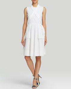 Marc Jacobs white poplin summerdress