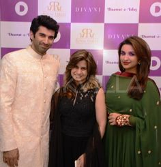 Aditya and Parineeti clicked at DIVA'NI   PINKVILLA