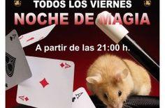 Noche de Magia Dublín House - http://www.mipuntomap.com/city/guadalajara-spain/event/noche-de-magia-dublin-house/