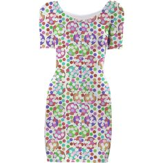 Lots of Dots Bodycon Dress 2 from Print All Over Me