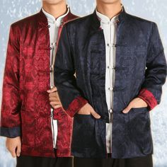 Aliexpress.com : Buy 2013 NEW Spring Tang suit men, long sleeve tang suit, two sides available,  commercial casual outerwear men tops, chinese dress from Reliable chinese kung fu suits suppliers on Vintage  Fashion Store. $28.47