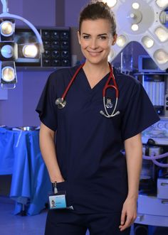 Camilla Arfwedson as Zosia March in Holby City - extremely sexy lady.