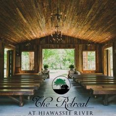 The Retreat is North Georgia's premier rustic wedding destination venue. We offer 11 fully furnished mountain cabins on the Hiawassee River. Think of us as the perfect destination for out of town guests. Our venue offers a clubhouse for gathering with...