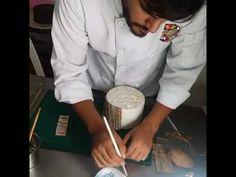 Técnica de craquelado en fondant y papel de arroz - YouTube