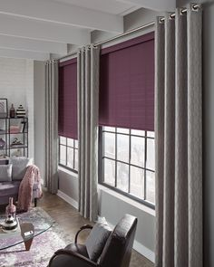 pink window treatments Drapery, Curtains, Window Styles, Window Design, Roman Shades, Window Treatments, Blinds, Outdoor Living, Artisan