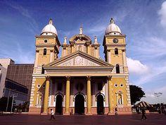 La basilica de la Virgen de La Chinita en  mi Maracaibo amado, capital del estado Zulia en Venezuela